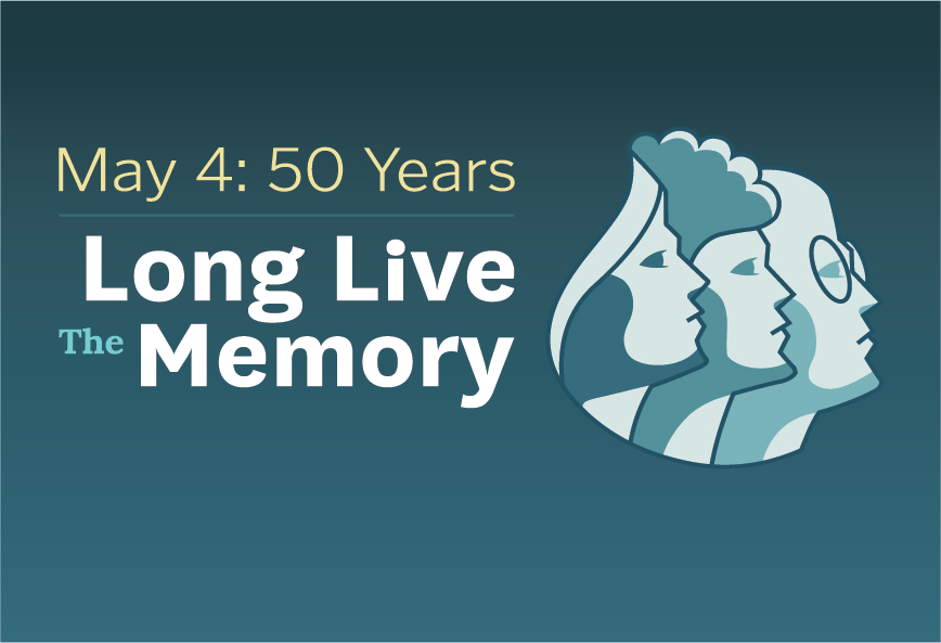 50 years long live the memory exhibit logo