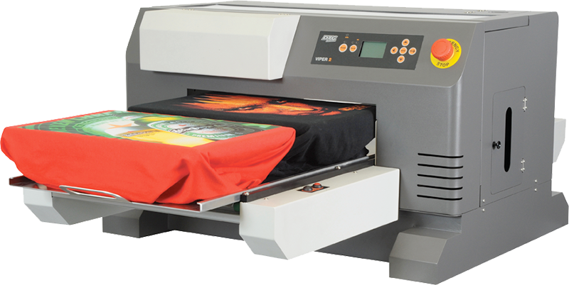 Image of the Viper garment printer