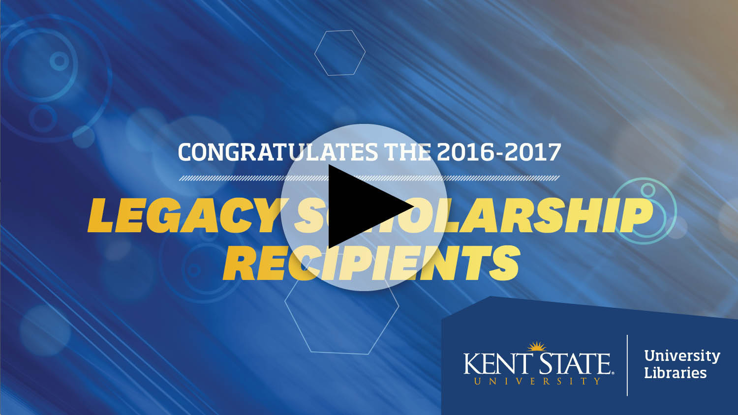 The 2016-2017 Legacy Scholarship Recipients