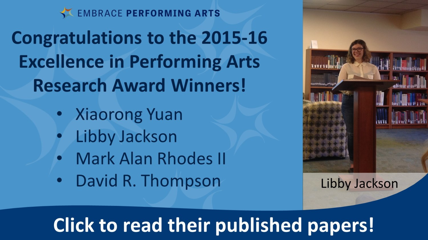 Show more about Read the 2015-16 award winning papers here!