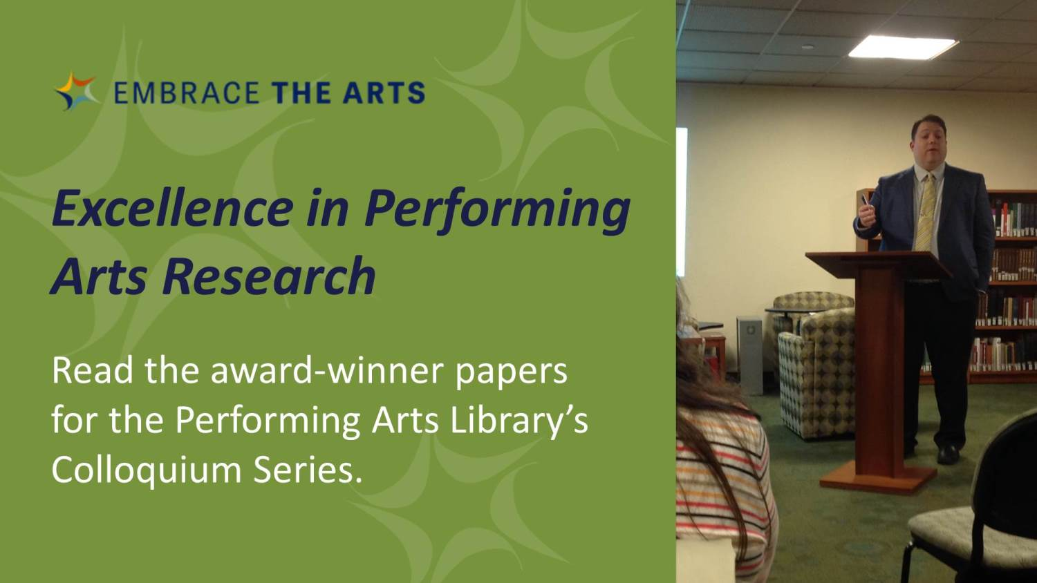 Excellence in Performing Arts Research