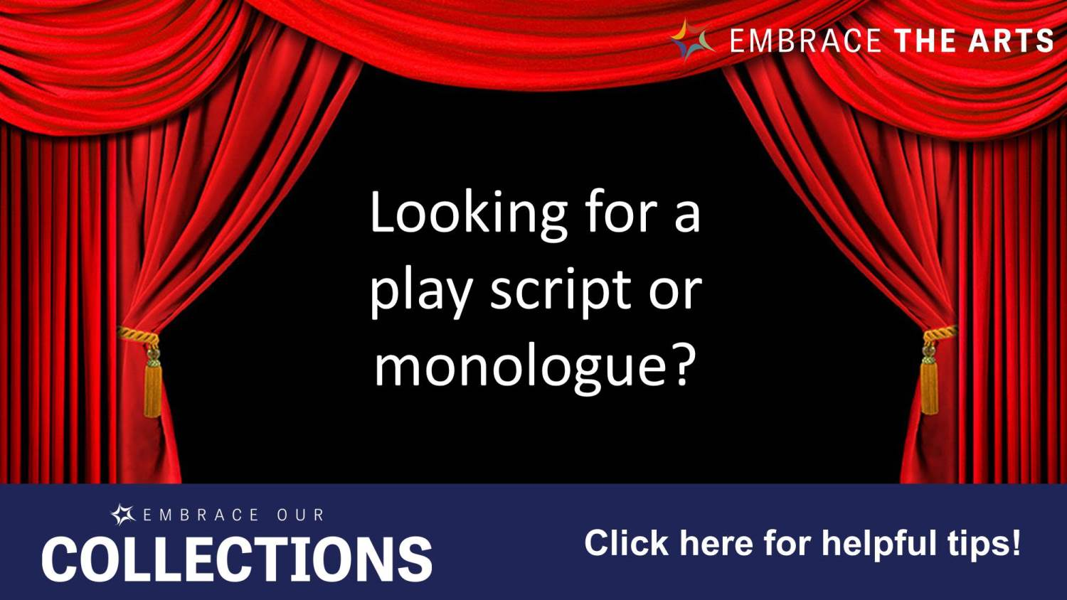 Show more about Need help finding a play script or monologue?