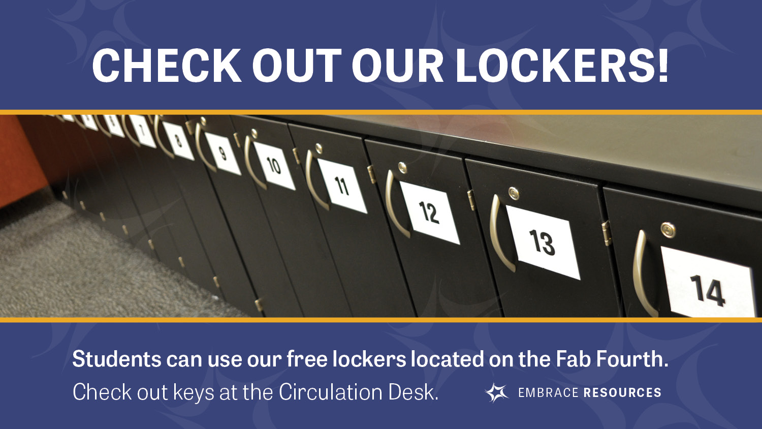 Show more about Free Lockers on the Fab 4th