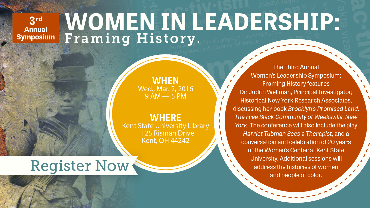 Show more about The Third Annual Women's Leadership Symposium: Framing History