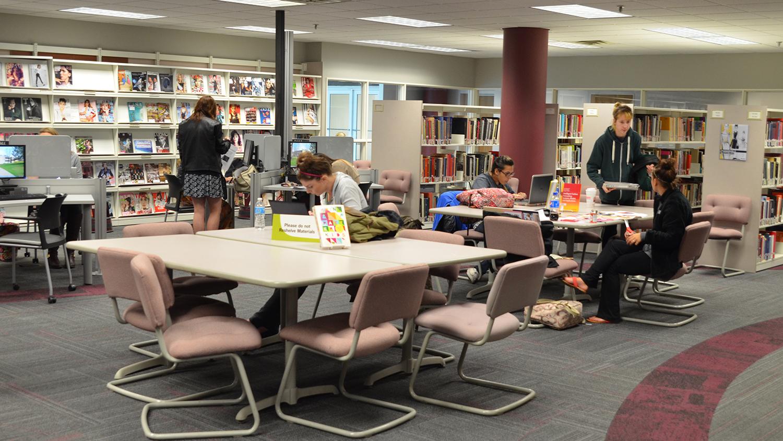 Fashion Library Interior