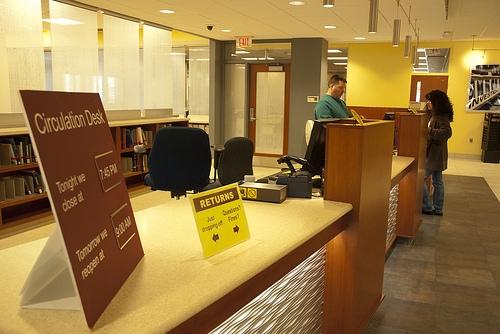 University Library Front Desk