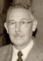 Portrait photograph of Dick Dudley Donaghy
