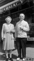 Photograph of Mabel Kelso Trory and Arthur J. Trory