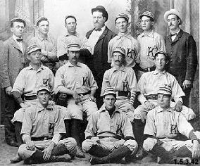 Photograph of Kent Baseball Team [1897]