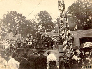 Laying the Cornerstone of Kent Normal School [1912]