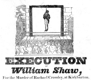 Execution of William Shaw