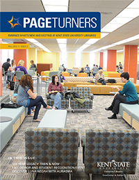 PageTurners Fall 2012 magazine cover