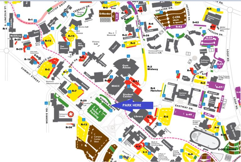 Dinner and Registration Information | Kent State University Liries on uaf parking map, kent state university administration, kent state campus parking map, portland state university parking map, wayne state university parking map, appalachian state university parking map, new mexico state university parking map, ball state university parking map, hope college parking map, norfolk state university parking map, san jose state university parking map, kennesaw state university parking map, plymouth state university parking map, bowling green state university parking map, kent state university virtual tour, kent state university mapquest, dayton parking map, wichita state university parking map, kent state university map pdf, truman state university parking map,
