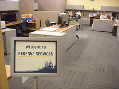 Welcome to Reserve Services