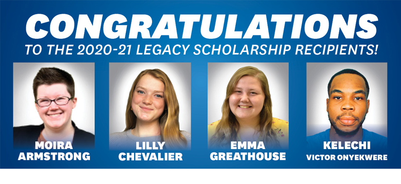 Legacy 2020-21 Recipients